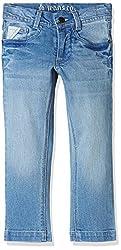 UFO Boys' Jeans (AW-16-DF-BKT-274_Indigo Light_2 - 3 years)