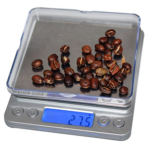 CoastLine Digital Pro Pocket Kitchen Scale Or Pocket Jewelry Scale with Back-Lit LCD Display | A Perfect Pour-Over Coffee Scale | Handy Food Scale Fulfills All Kitchen Scale Needs (Pocket Coffee Maker compare prices)