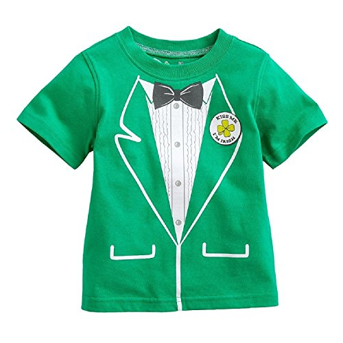 St Patricks Day Baby Outfit front-1053079