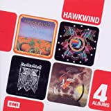 Hawkwind Boxed Set 4CD Hawkwind/In Search of Space/ Doremi Fasol Latido/Hall Of The Mountain Grill