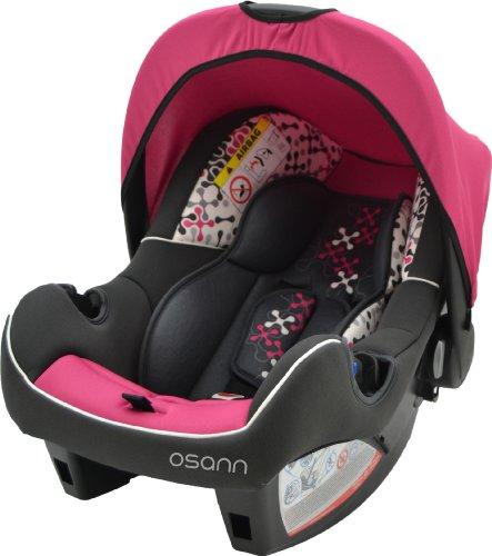 Babyschale BeONE SP, (0 -13 kg), ECE Gruppe 0 +, von Geburt bis ca. 15 Monate, mit Verdeck, Corail Framboise Pink