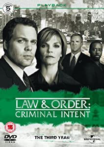Law & Order: Criminal Intent - Season 3 - Complete [2003] [DVD]
