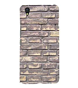 EPICCASE Painted brick wall Mobile Back Case Cover For OnePlus X (Designer Case)