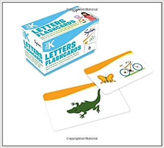 Pre-K Letters Flashcards (Flashcards Language Arts)