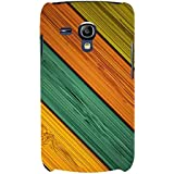 For Samsung Galaxy S3 Mini I8190 :: Samsung I8190 Galaxy S III Mini :: Samsung I8190N Galaxy S III Mini Stripes Background ( Stripes Background, Stripes Pattern, Stripes, Colored Pattern ) Printed Designer Back Case Cover By FashionCops