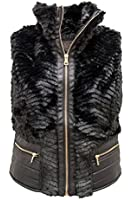 Juniors Faux Fur Vest for Womens By CI SONO BY CAVALINI