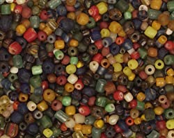 Beads - Indonesian Glass Tradewind - Assortment of 700+ Pieces