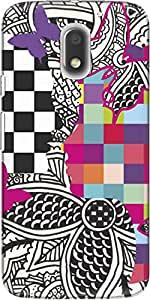 The Racoon Grip Ordinary Love - I hard plastic printed back case/cover for Motorola Moto E3 Power