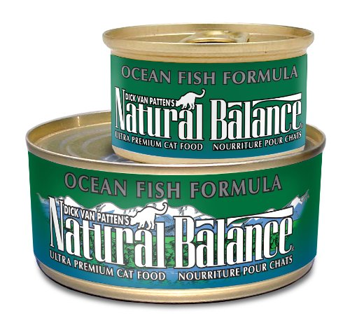 Natural Balance Canned Cat Food, Ocean Fish Recipe,