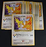 Lot of (26) Pokemon Giant Promo Cards * Articuno, Moltres, and Zapdos 120HP