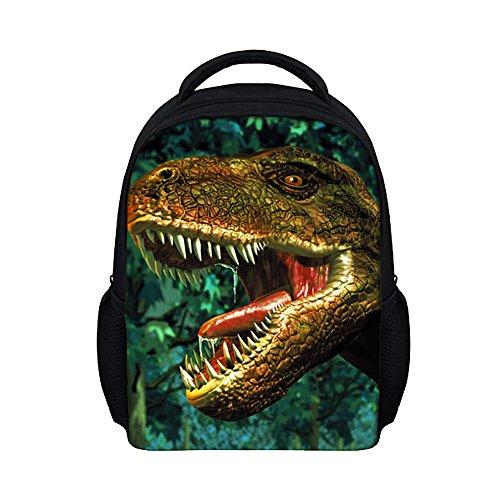 Moolecole-Unisex-3D-Animaux-Print-Daypack-Sac-Enfants-De-Dinosaure-Sac--Dos-Enfants-Sac--Dos-Garons-Filles-Enfant-De-Lcole-Maternelle