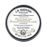 J. R. Watkins Hand & Cuticle Salve, Lavender, 2.1 oz (59 g) (Pack of 4)
