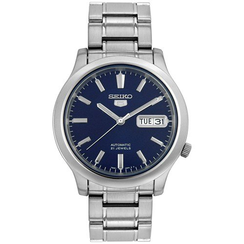 Seiko 5 Men's SNK793 Automatic Stainless Steel  Blue Dial Watch