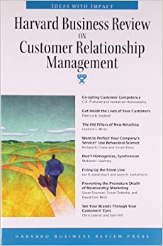 The characteristics and the philosophy behind the customer relationship management