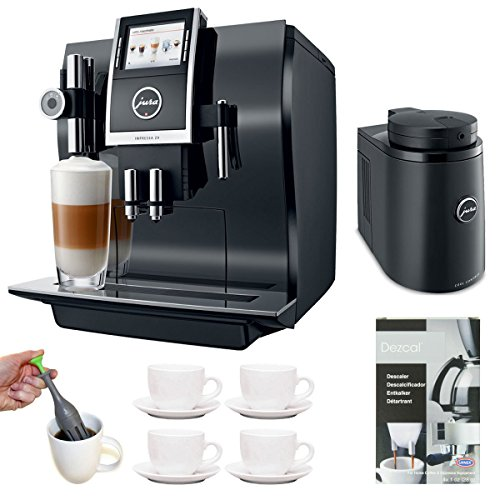 Jura 13752 Impressa Z9 One Touch Tft Coffee Machine + Cool Control Basic (34 Oz.) Temperature Controlled Milk Container + Accessory Kit front-567037