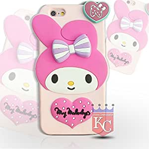 iPhone 6/6s (4.7 inch) Cases - My Melody Cartoon Heart Soft Silicon Apple iPhone 6 & iPhone 6s Back Cover for girls - Pink Colour