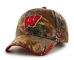 Wisconsin Badgers Realtree Frost Adjustable Strap Hat / Cap