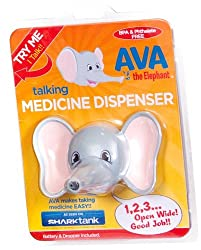 Ava the Elephant Talking Children's Medicine Dispenser