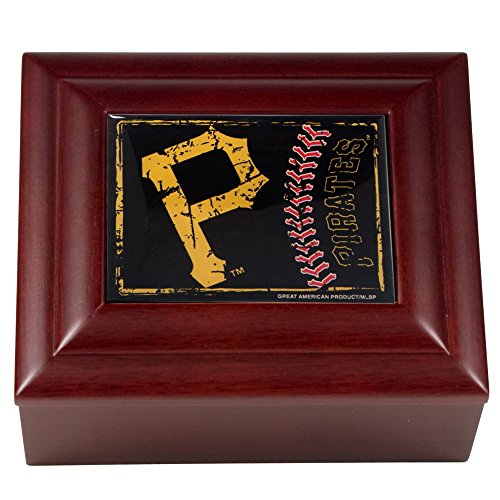 MLB Pittsburgh Pirates Wood Keepsake Box