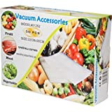 Andrew James Vacuum Food Sealer Bags - 50 Bags Included - 22 cm X 30 cm