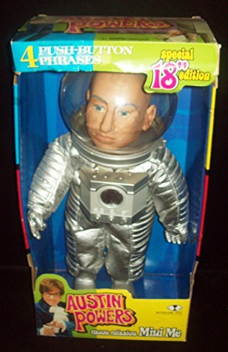 9 Dr Austin Powers Bigglesworth International Man of Mystery Evil Action Figure with Extended Pinky Finger and Mr