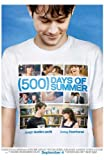 500 Days of Summer Poster Movie UK 11 x 17 In - 28cm x 44cm Zooey Deschanel Joseph Gordon-Levitt Matthew Gray Gubler Minka Kelly