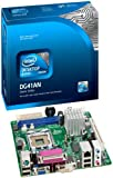 Intel Classic Series Mini-ITX Desktop Motherboard Supporting Many Processors in LGA775 Socket DG41AN by Intel [並行輸入品]