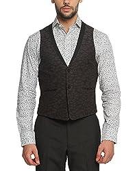 Suitltd Men's Slim Fit Waistcoat (VT0007_Grey_X-Small)