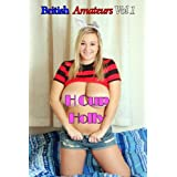 British Amateurs - H Cup Holly - Big Boob babe Holly presents her huge breasts for big tits lovers.