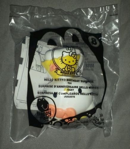 2014 Mcdonalds Happy Meal Hello Kitty # 8 Birthday Surprise Toy