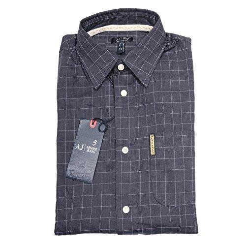 65024 camicia ARMANI JEANS FANTASIA QUADRI camicie uomo shirt men [M]