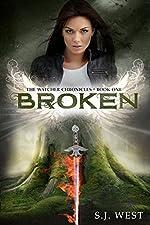 Broken (Book 1, The Watcher Chronicles) (Paranormal Angel Romance)