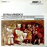 Stravinsky: Pulcinella Suite / Song Of the Nightingale L'Orchestre De La Suisse Romande, Ernest Ansermet, Conductor