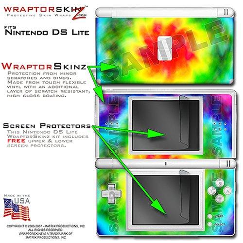 Nintendo DS Lite Tie-Dye WraptorSkinz Skin Kit by TuneTattooz TM