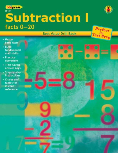 Edupress Subtraction 1 Facts 0-20 - 1
