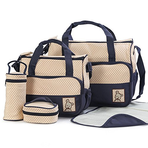 5-pcs-baby-changing-diaper-nappy-bag-tote-mummy-mother-multifunctional-handbags