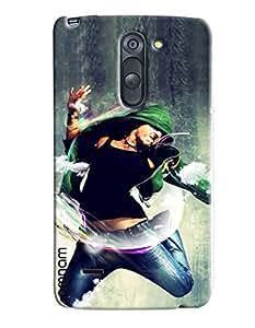 Omnam Boy Doing Free Style Dance Printed Designer Back Cover Case For LG G3 Stylus