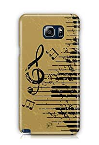 YuBingo Musical Notes Mobile Case Back Cover for Samsung Galaxy Note 5