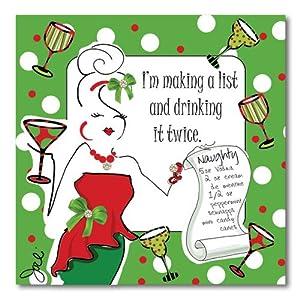 You Funny christmas cocktail napkins