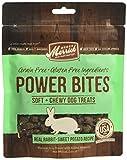 Merrick Power Bites Dog Treats, Real Rabbit and Sweet Potato Recipe,6oz. Bag,pack of 1