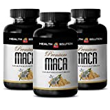 Maca peruana organic - PREMIUM MACA 1300MG - support sexual arousal (3 Bottles)