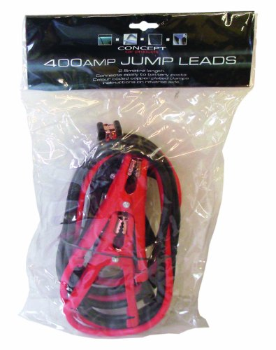 Concept A321 400A Jump Lead 3m - No Tangle