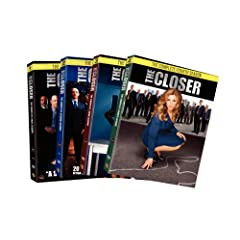The Closer: The Complete Seasons 1-4 DVD Set