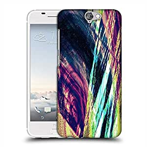 Snoogg abstract paint Designer Protective Back Case Cover For HTC one A9
