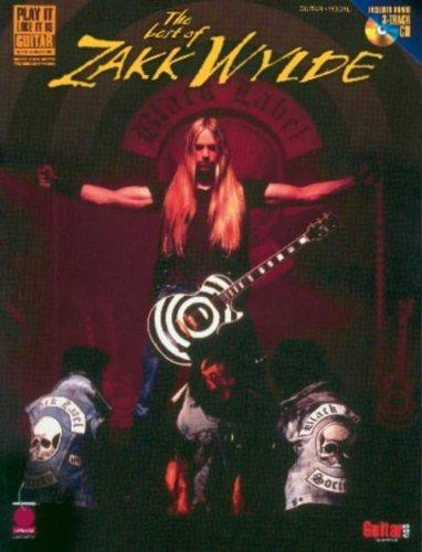 The Best of Zakk Wylde [With CD with 3 Full-Performance Bonus Tracks] (Play-It-Like-It-Is) (2001-03-01)