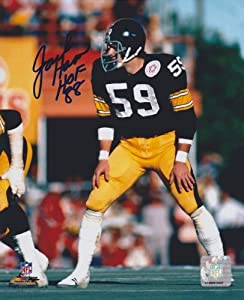 Jack Ham Autographed Hand Signed Pittsburgh Steelers 8x10 Photo - with 1988 Hall of... by Real Deal Memorabilia