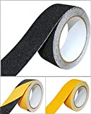 B.H. Select すべり止め ノンスリップ テープ 50mm×5m 階段 床 屋外 屋内 はがれにくい 耐久性 防水 (ブラック(1個)) BH68-3
