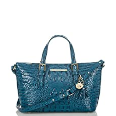 Mini Asher Tote<br>Teal Melbourne