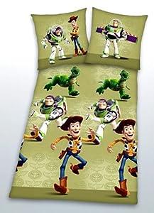 parure de lit housse de couette toy story disney 100 coton cuisine maison. Black Bedroom Furniture Sets. Home Design Ideas
