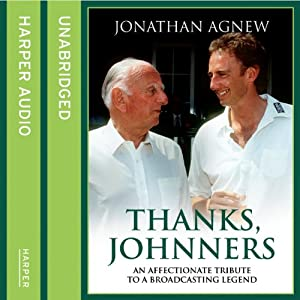 Thanks, Johnners Audiobook